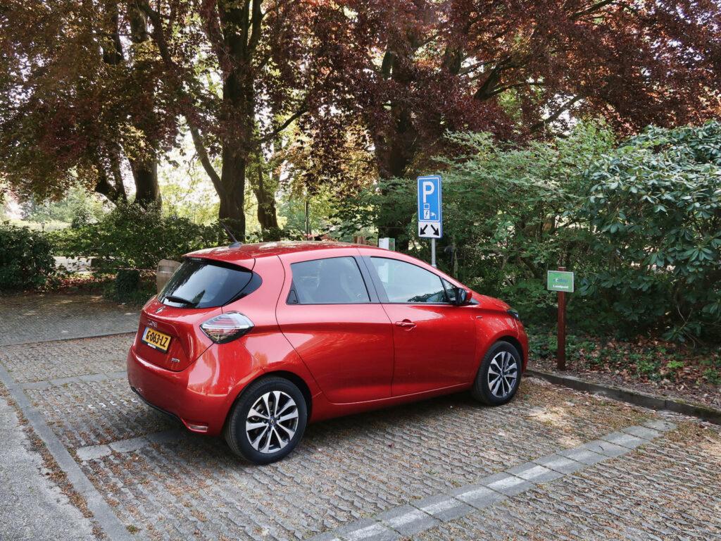 Renault Zoe opladen
