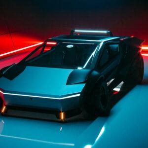 re-design Tesla Cybertruck