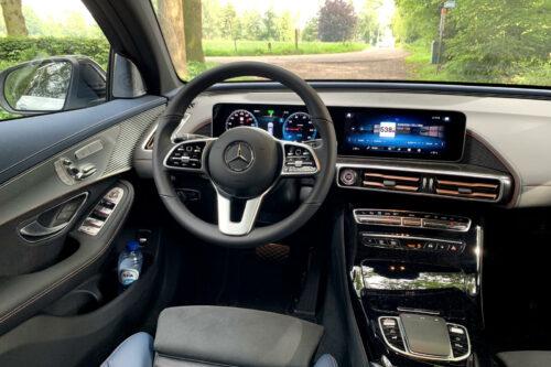 Mercedes EQC dashboard