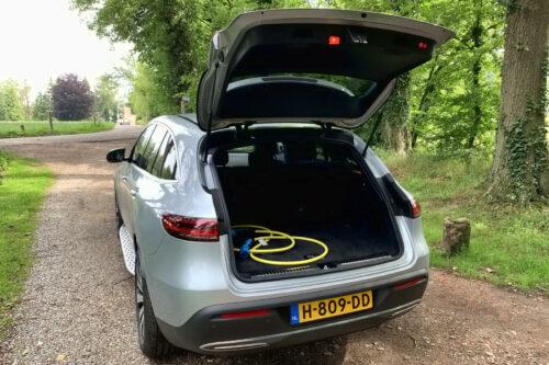 Mercedes EQC kofferbak