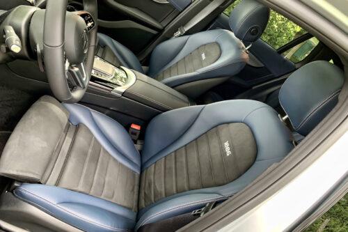 Mercedes EQC voorstoelen