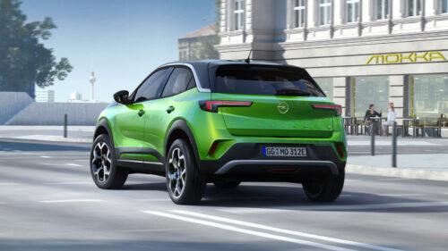 Opel Mokka-e achterzijde