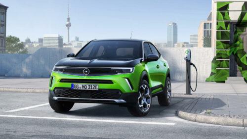 Opel Mokka-e voorzijde