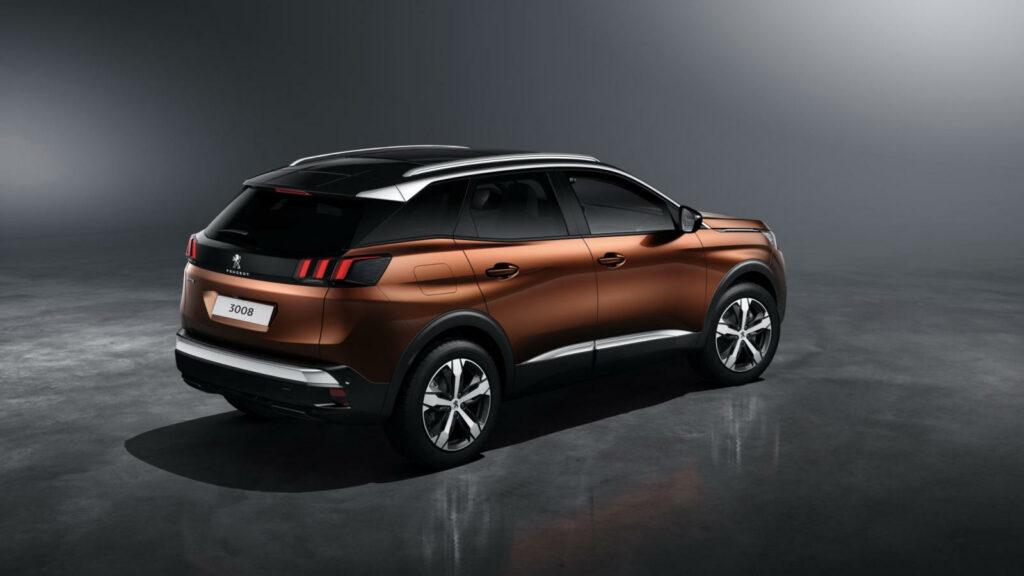 Peugeot e-3008 elektrisch
