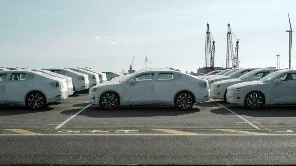 Polestar 2 Zeebrugge