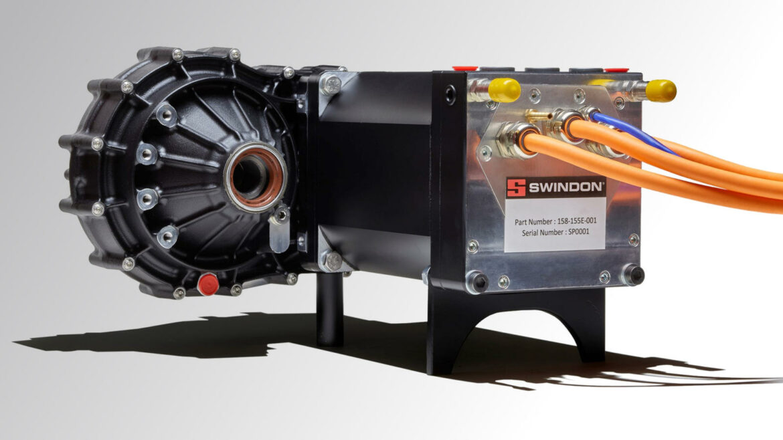 Swindon Powertrain 'crate' motor elektrisch
