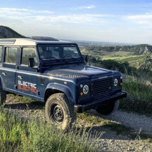 Tazzari elektrische Land Rover Defender