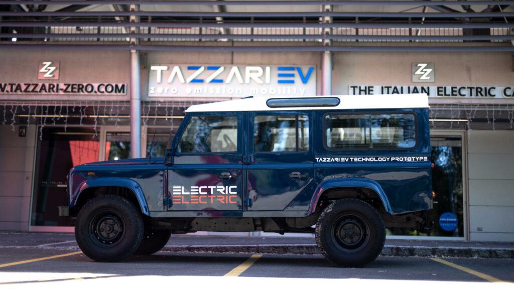 elektrische Land Rover Defender 110
