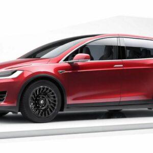 Tesla Model XL minivan MPV