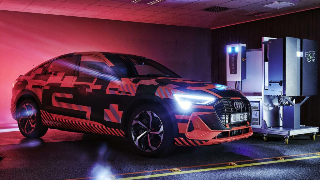 Audi onderzoek bi-directioneel laden
