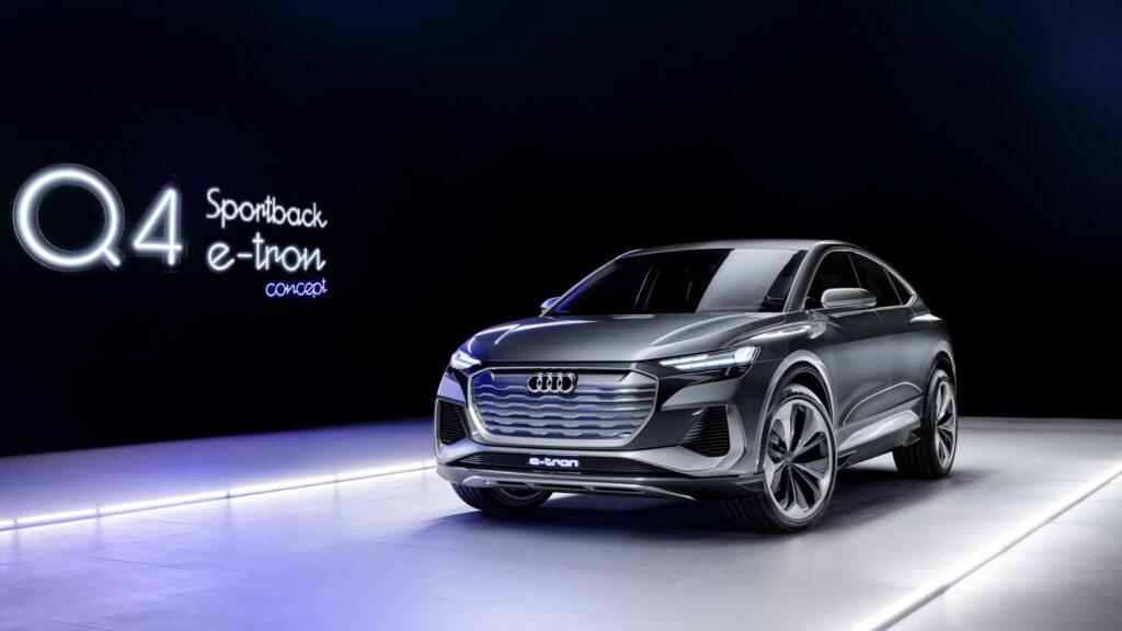 audi Q4 e-tron sportback SUV