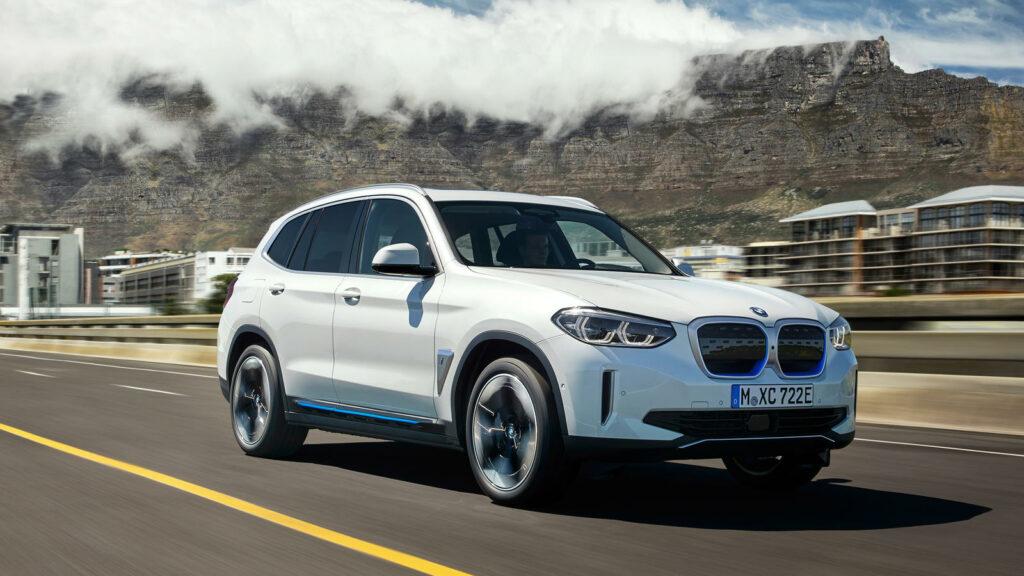 elektrische BMW iX3 SUV