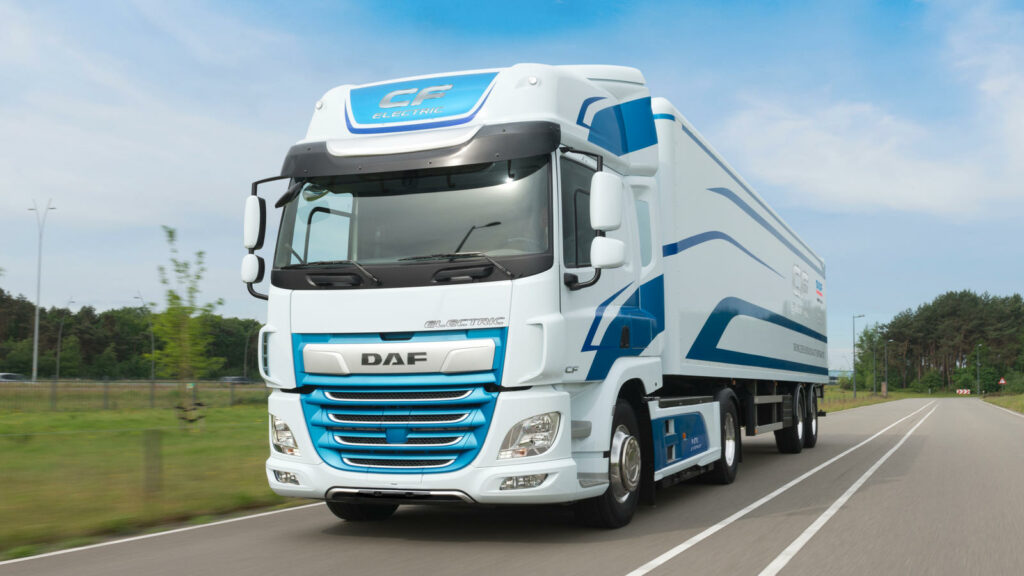elektrische trucks laden laadinfrastructuur