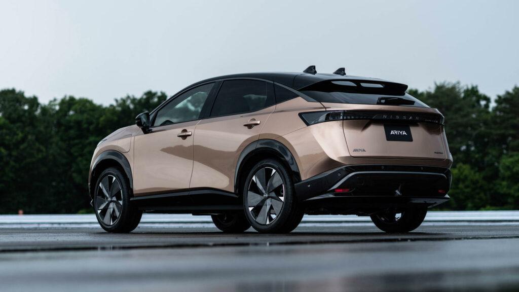 Design van de Nissan Ariya