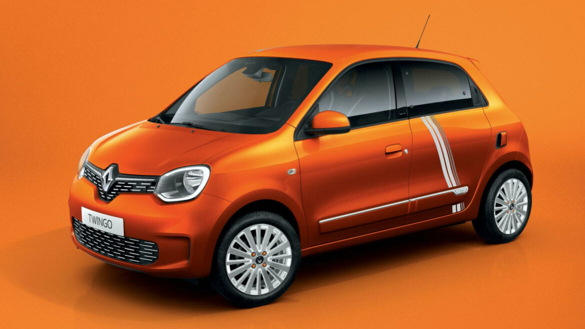 Renault Twingo Z.E. Vibes Limited Series