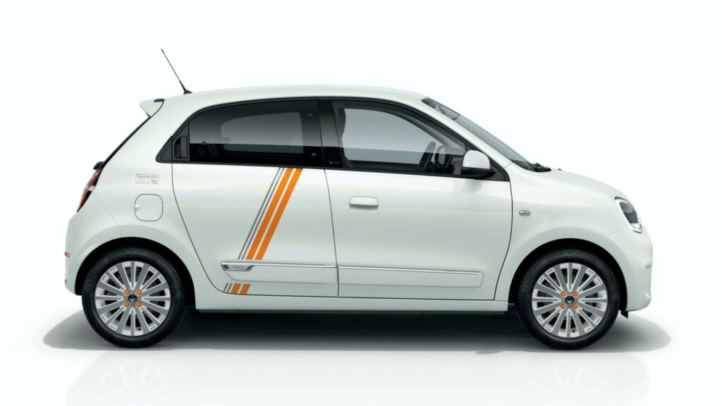 elektrische Renault Twingo Vibes Limited Series