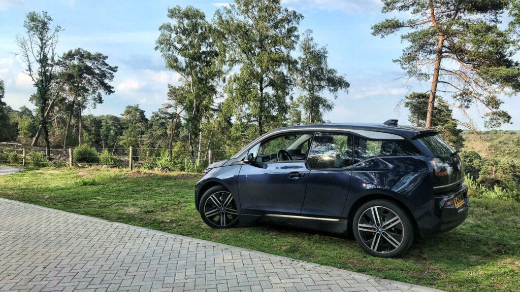 BMW i3 rijplezier veluwe toeren
