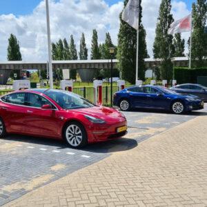 Tesla V3 Supercharger locatie Rijswijk