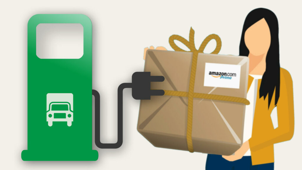 Amazon elektrische bestelwagens