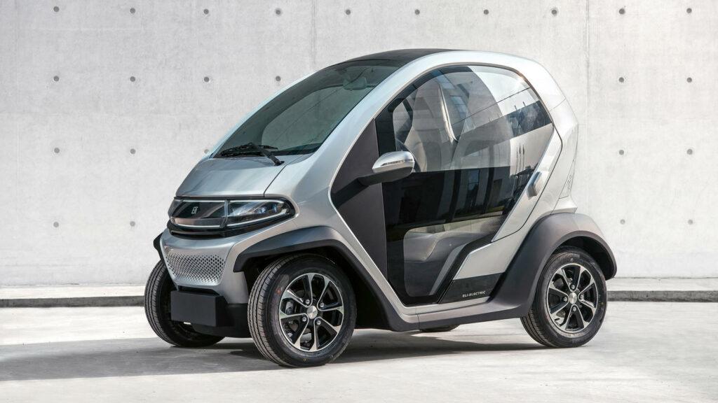 Eli ZERO elektrische stadsauto