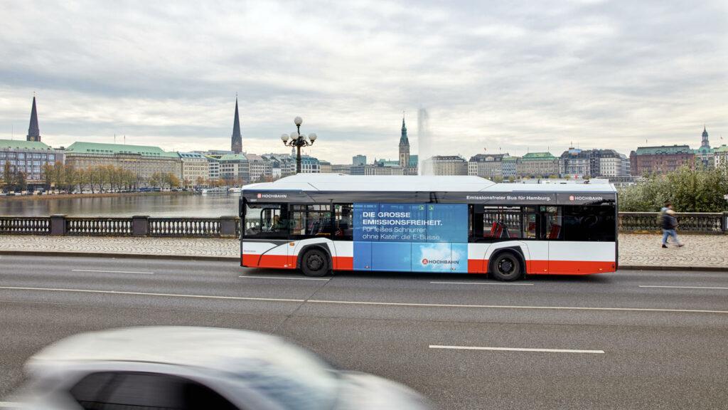 Hamburg elektrische bussen