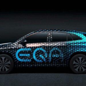 Mercedes EQA elektrische SUV