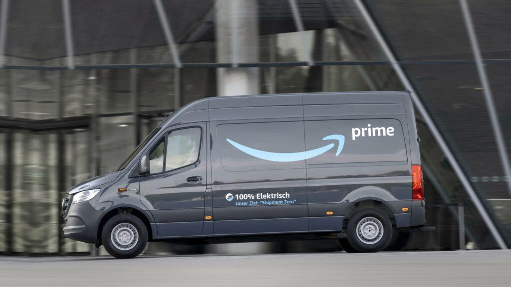 Amazon elektrische bestelwagens Mercedes