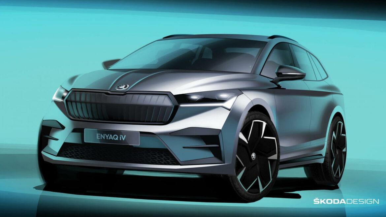 Skoda Enyaq iV elektrische SUV