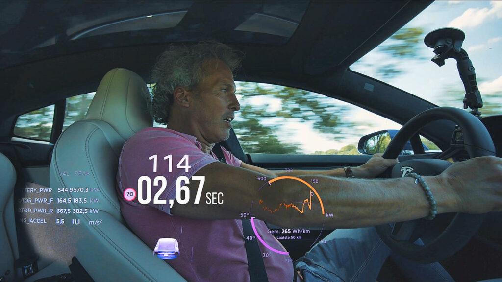 Tesla Model S Cheetah Stance Werner Budding videoreportage