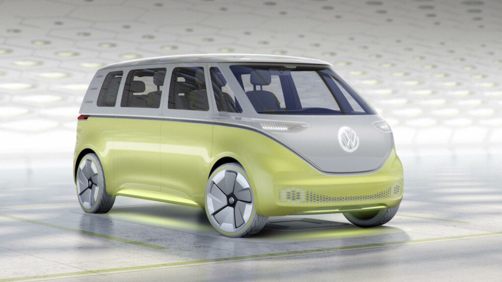 Volkswagen ID.Buzz 2022 in productie