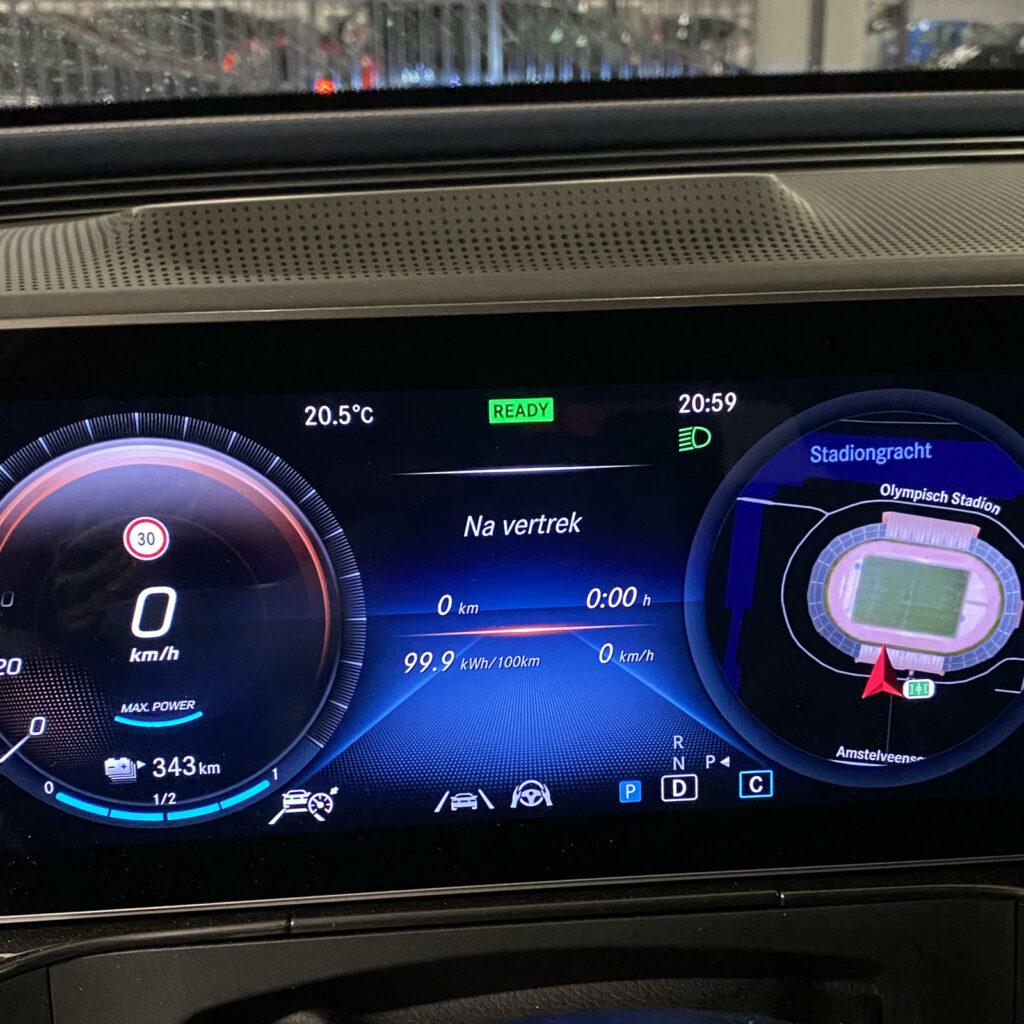 Mercedes EQC duurtest  rijbereik