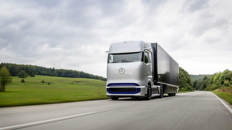 Daimler Mercedes-Benz GenH2 waterstoftruck