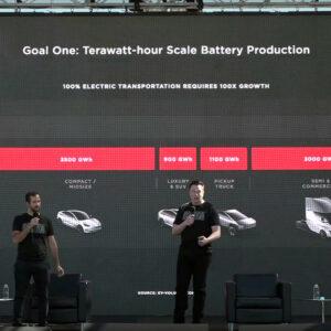 Tesla Battery Day goedkopere accu's