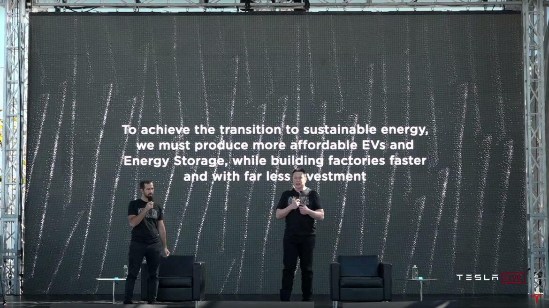 Tesla Battery Day accucellen productie goedkoper