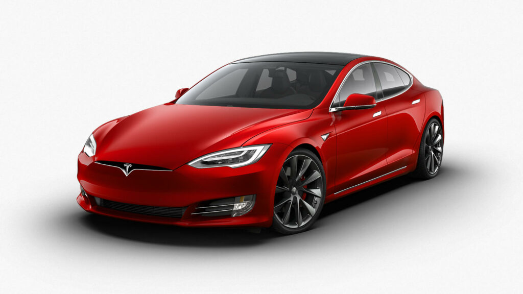 Tesla Model S Plaid-versie