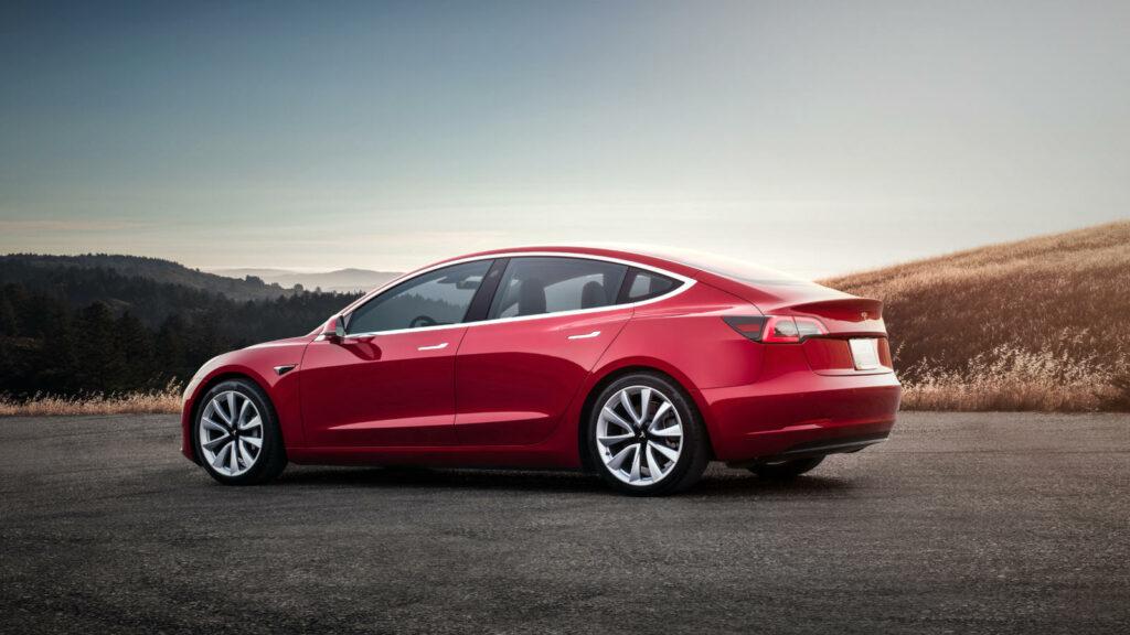 Tesla Model 3 Zakenauto van het Jaar