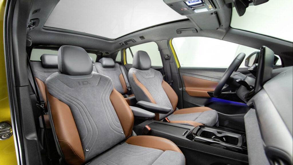 Interieur Volkswagen ID.4 elektrische SUV