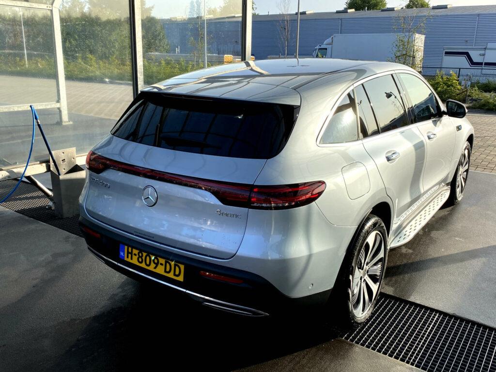 Duurtest Mercedes EQC