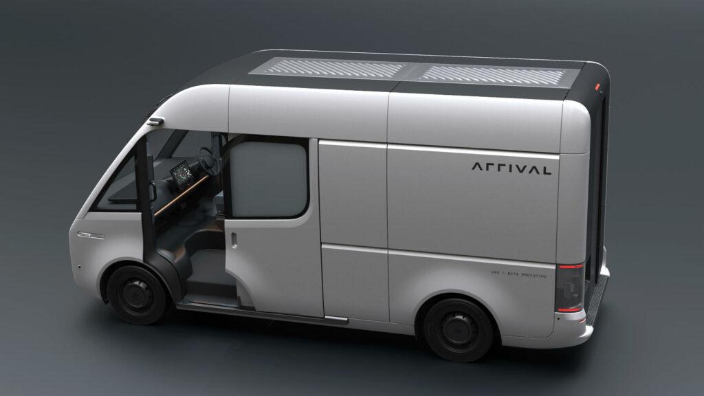 Arrival elektrische bestelwagen