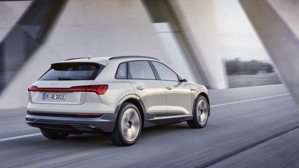 Audi e-tron elektrische SUV