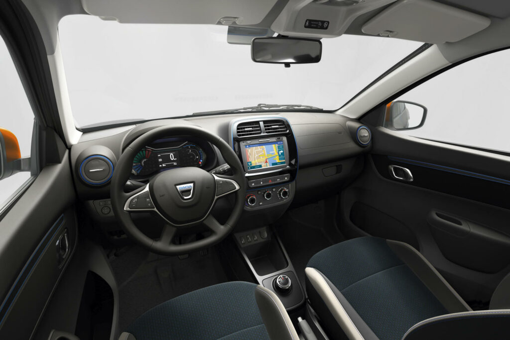 Interieur Dacia Spring Electric