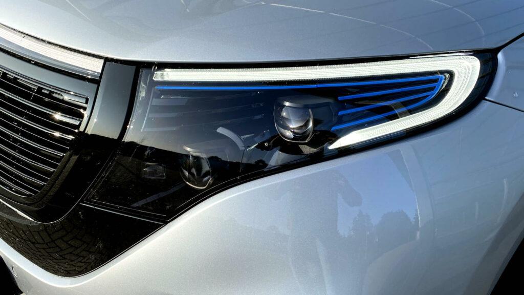 Mercedes EQC koplamp