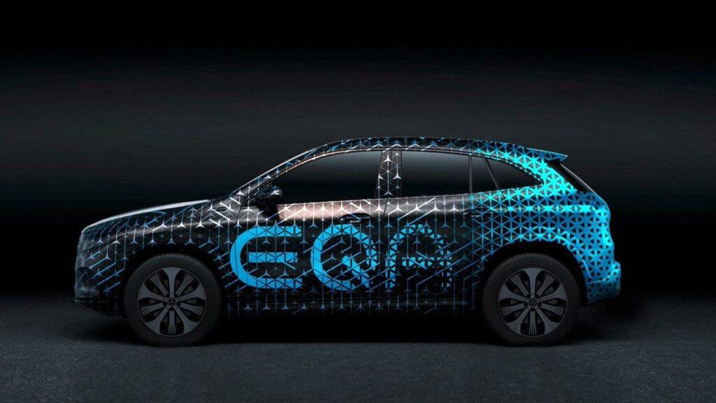 Elektrische Mercedes SUV EQA