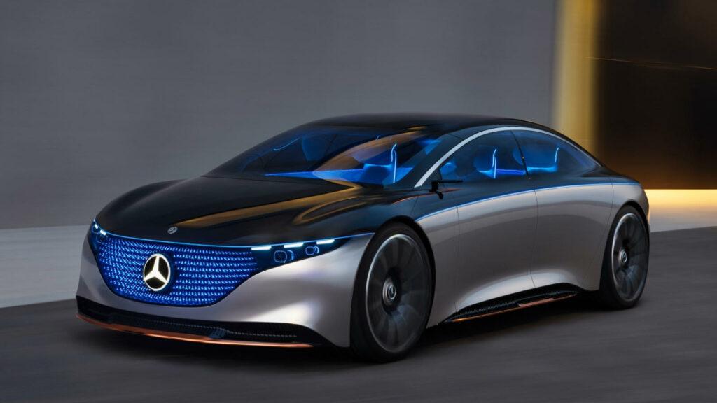 Mercedes EQS elektrisch