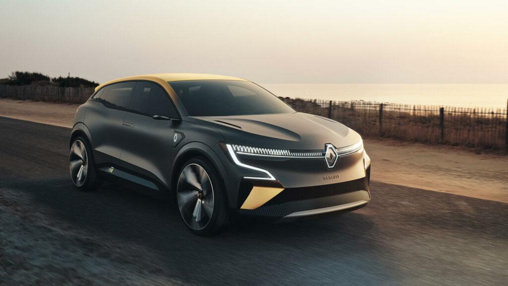 Elektrische Renault Mégane eVision conceptcar