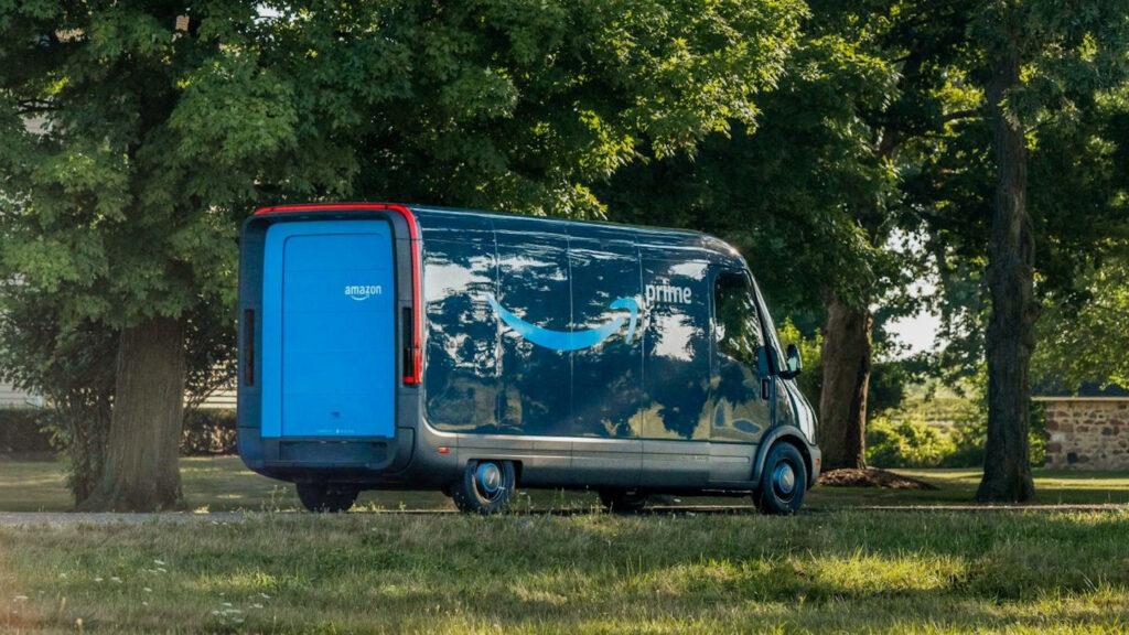 Amazon Rivian elektrische bestelwagens
