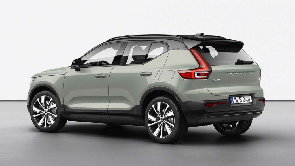 Mogelijk ook kleinere Kleinere elektrische Volvo dan deze XC40 Recharge