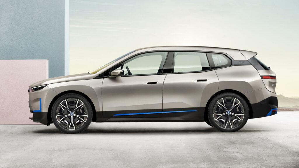BMW iX productieversie