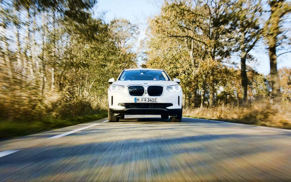 elektrische BMW iX3 rij_impressie rijtest