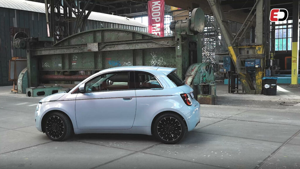Rij-impressie: elektrische Fiat 500e